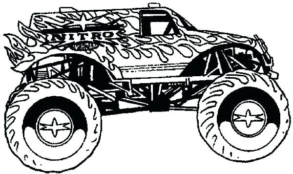 Hot Wheels Coloring Pages Free At Getdrawings Com Free For