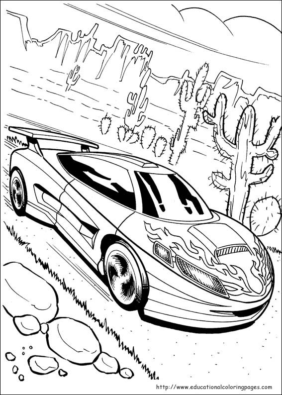 567x794 Hot Wheel Coloring Pages Hot Wheels Coloring Pages Free For Kids