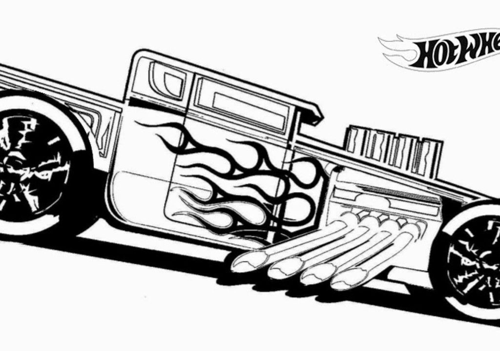 1024x720 Free Printable Hot Wheels Coloring Pages For Adults Hard Extreme