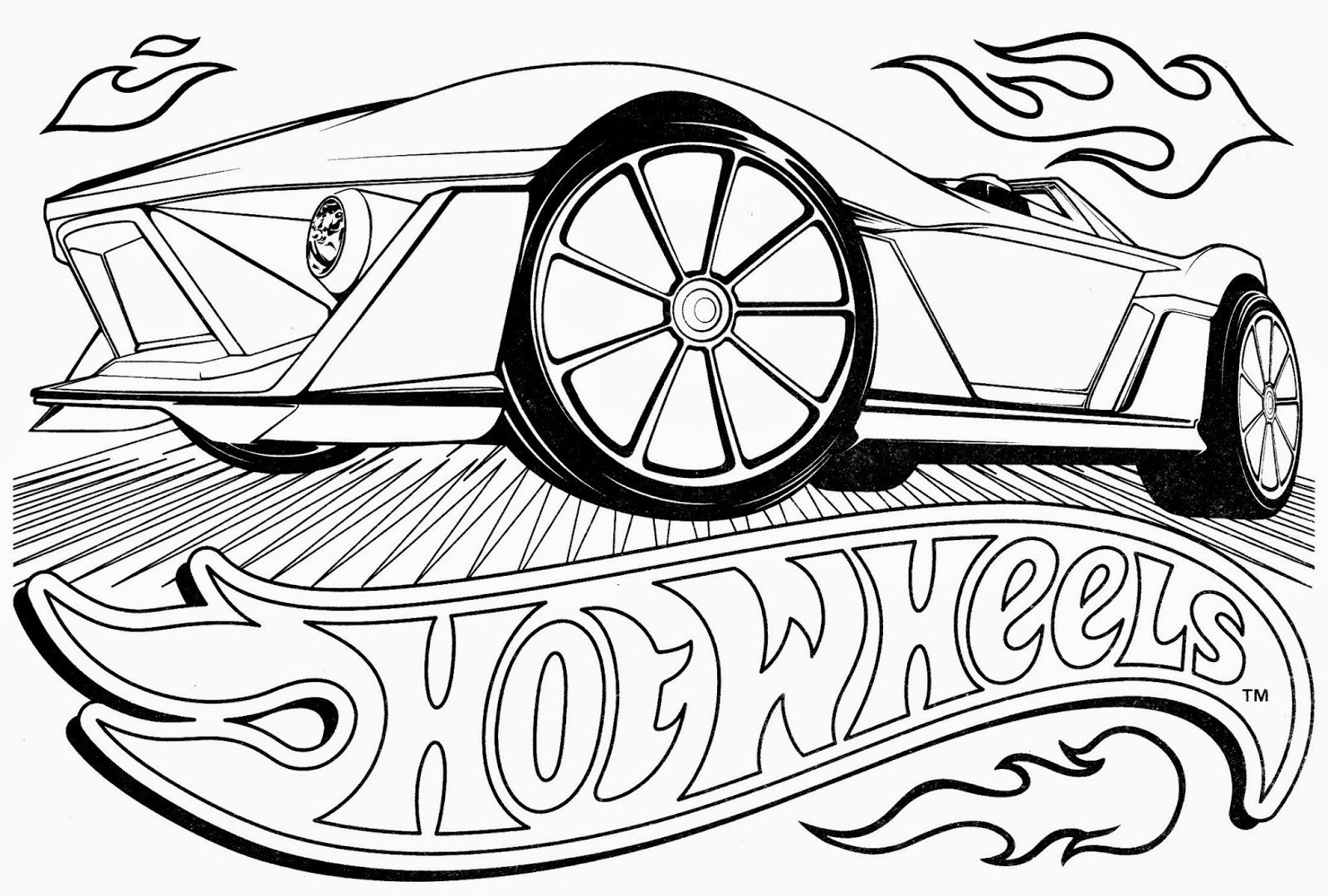 1600x1080 Hot Wheelsing Pages Com Extraordinary Printable Coloring Wheels