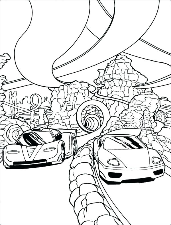 600x790 Race Car Colouring Pages Printable Coloring Pages Of Race Cars