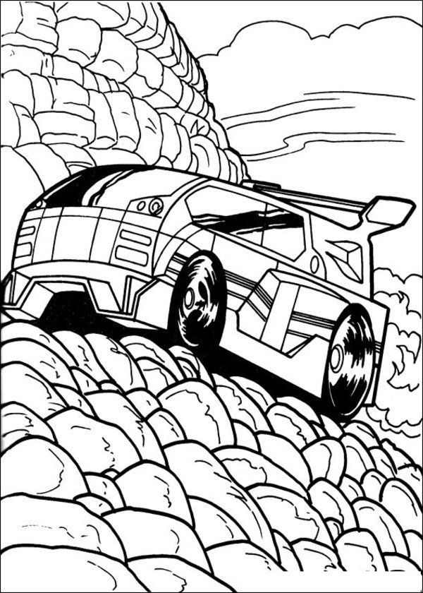 600x840 Hot Wheels Printable Coloring Pages Free Printable Hot Wheels
