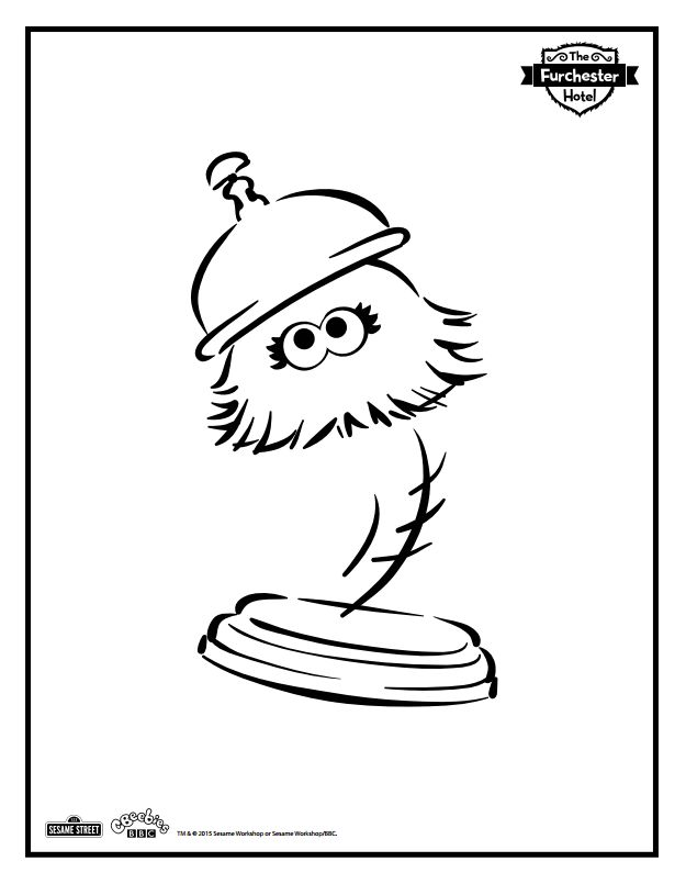 Hotel Coloring Pages