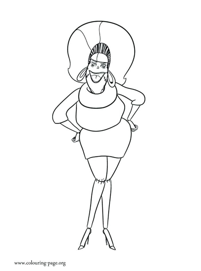 700x942 Hotel Coloring Page Coloring Page Frankenstein Coloring Pages