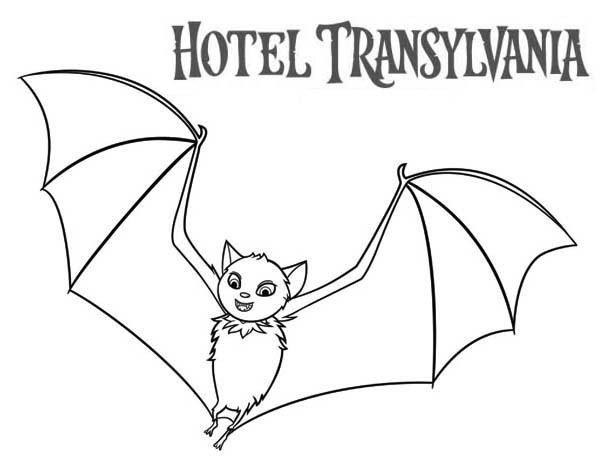 600x464 Hotel Transylvania Coloring Pages