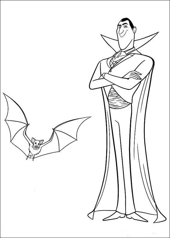 567x794 Hotel Transylvania Coloring Pages Coloring Pages For Kids