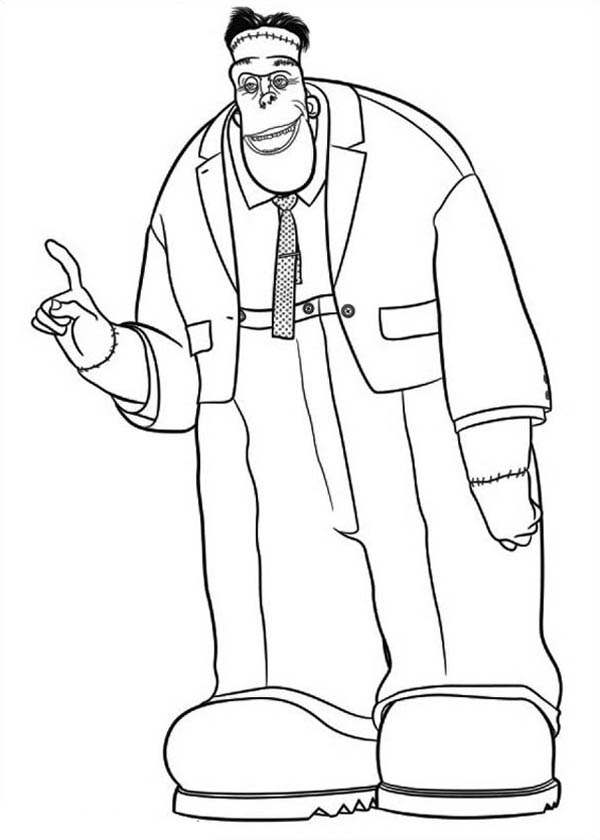 600x840 Hotel Transylvania Coloring Pages