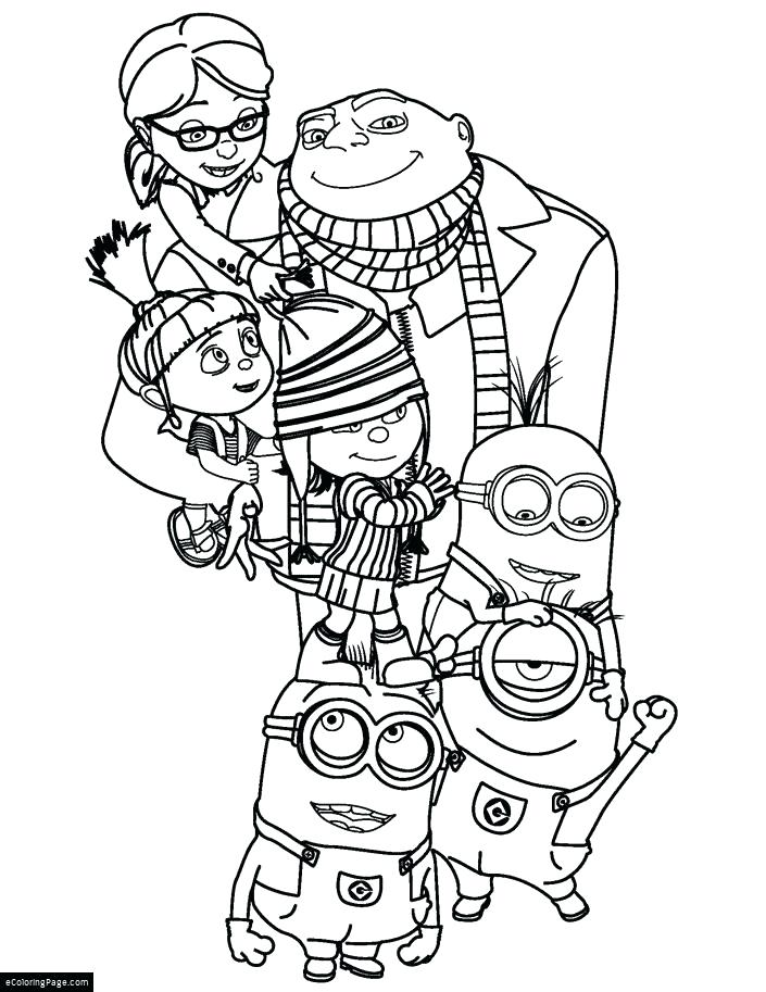 705x913 Hotel Transylvania Coloring Pages Despicable Me All Characters