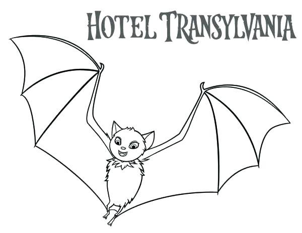 600x464 Hotel Transylvania Coloring Pages Hotel Transylvania Dracula