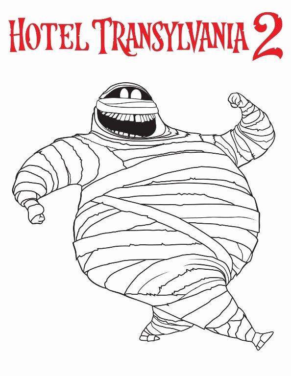 594x768 Hotel Transylvania Coloring Pages Dennis Photos Kids N Fun