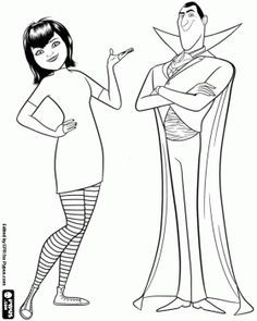 236x295 New Hotel Transylvania Coloring Pages