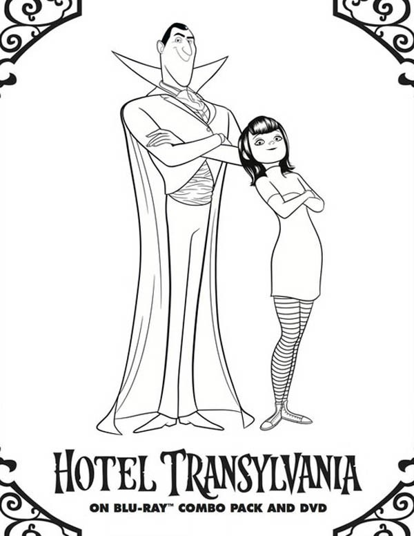 600x776 Hotel Transylvania Coloring Pages Hotel Transylvania Owner Count