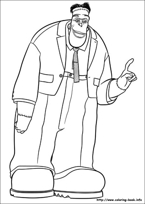 567x794 Hotel Transylvania Coloring Picture Coloring Fun For All Ages
