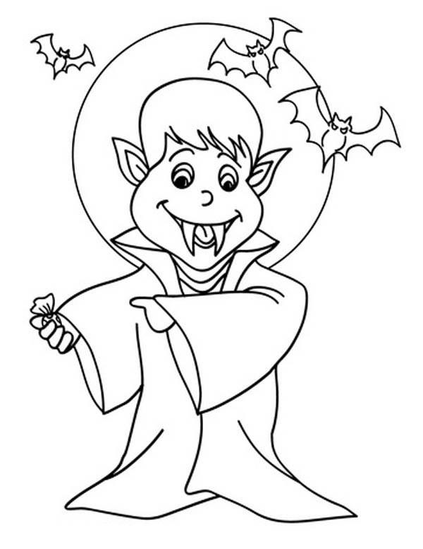 600x777 Cartoon Of Vampire Under The Moonlight In Hotel Transylvania