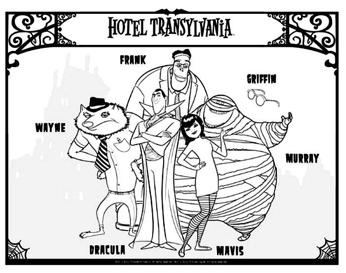 700x553 Hotel Transylvania To Print For Free