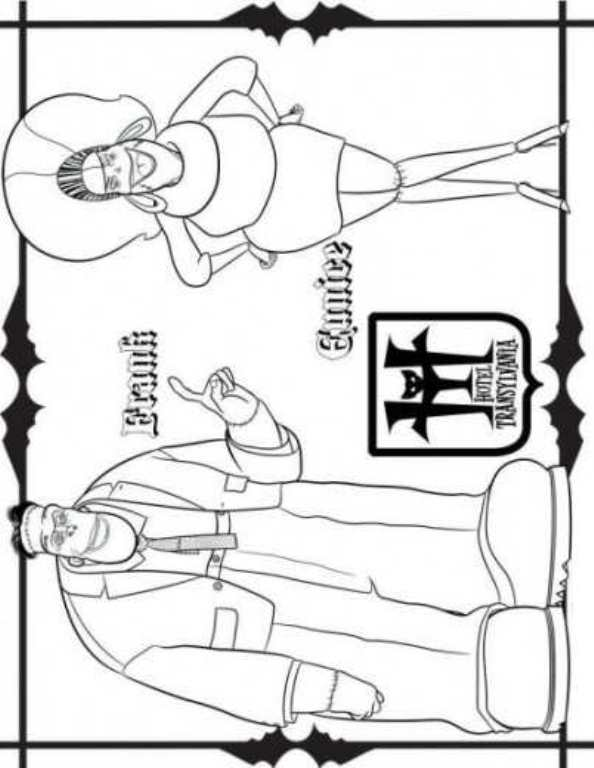 594x768 Kids N Coloring Pages Of Hotel Transylvania