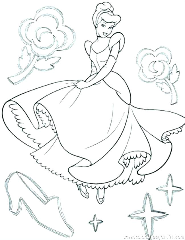 650x844 Princess Cinderella Coloring Pages Princess Color Pages Printable
