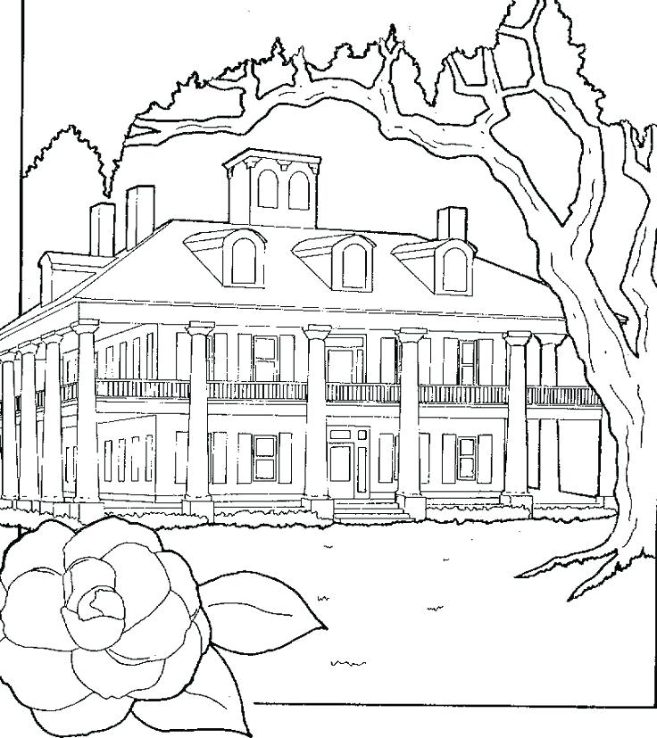 736x827 Coloring Pages House Coloring Pages For Girls House Colouring