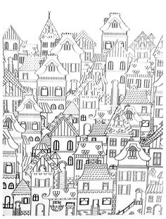 236x311 Victorian House Coloring Page Coloring Pages