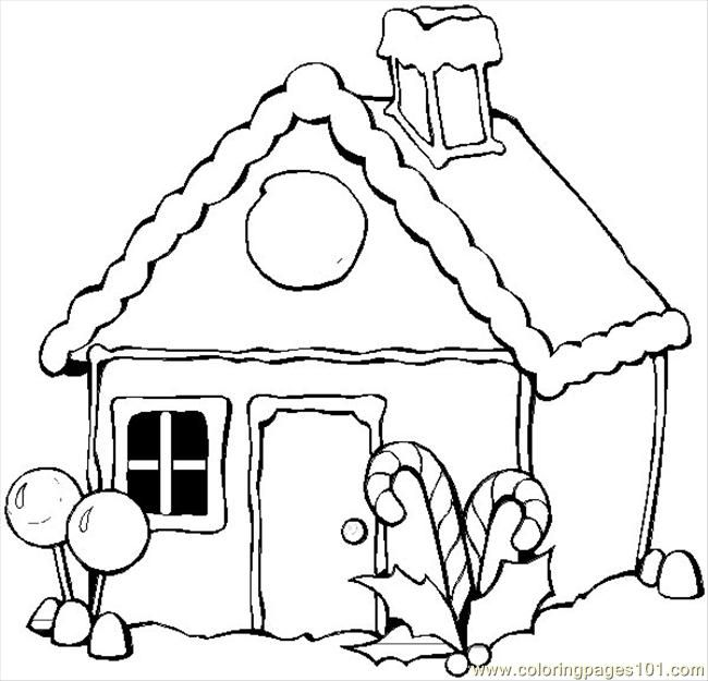 650x625 Free Winter Coloring Pages Coloring Pages Winter House