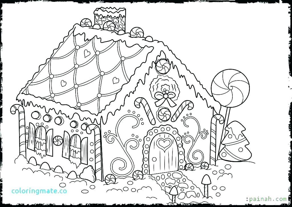 1024x728 Printable Haunted House Coloring Pages Free Printable Haunted