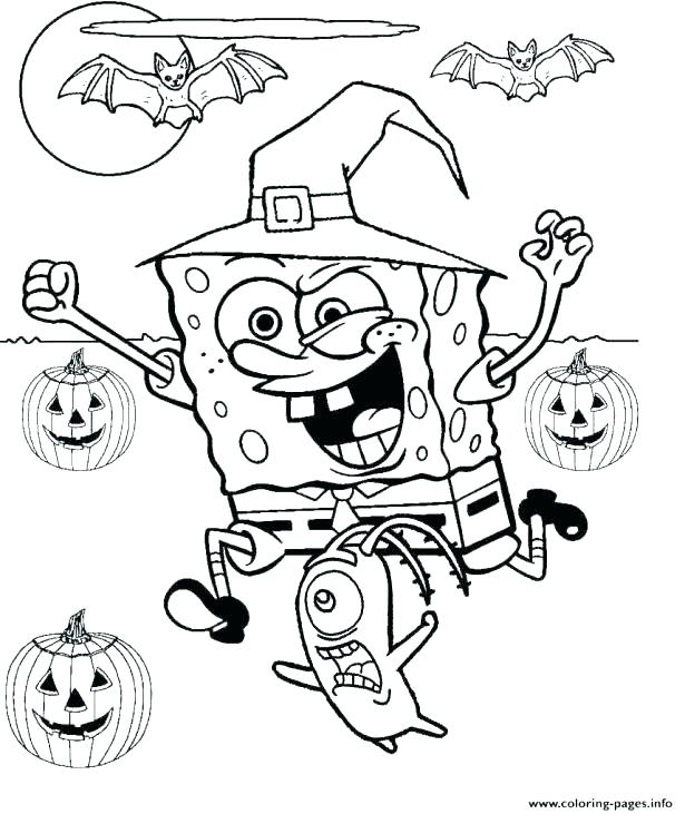 615x731 Free Printable Haunted House Coloring Pages Preschool Page Foggy