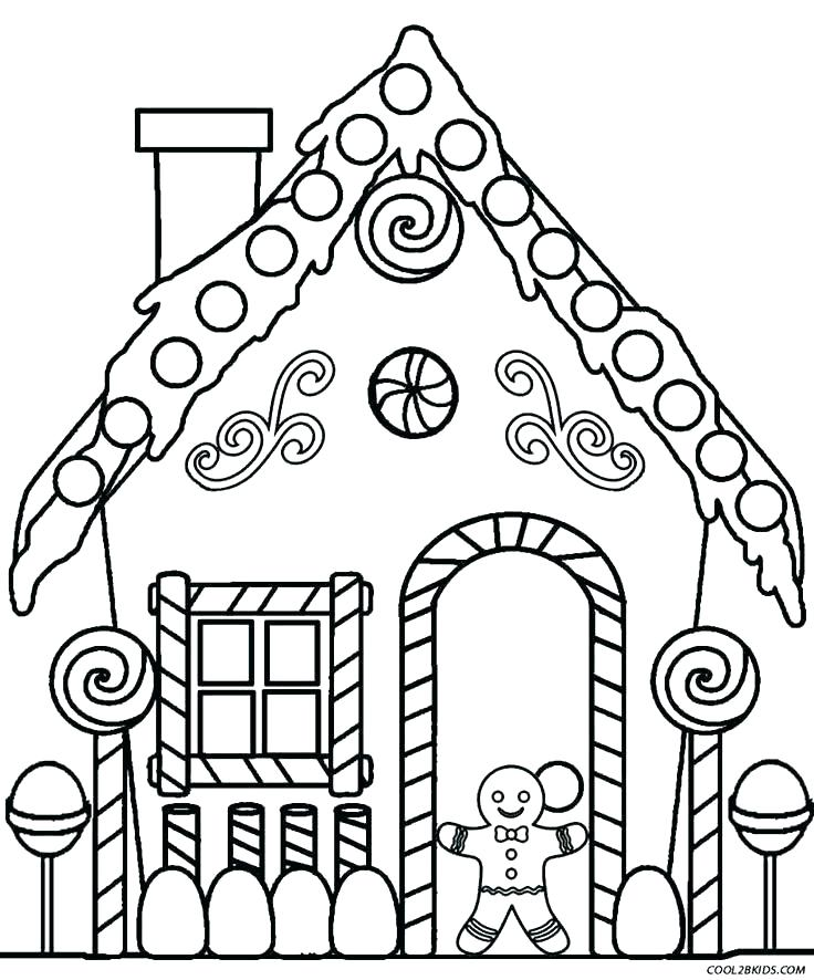 736x886 House Coloring Page Coloring Pages Preschool Color Pages