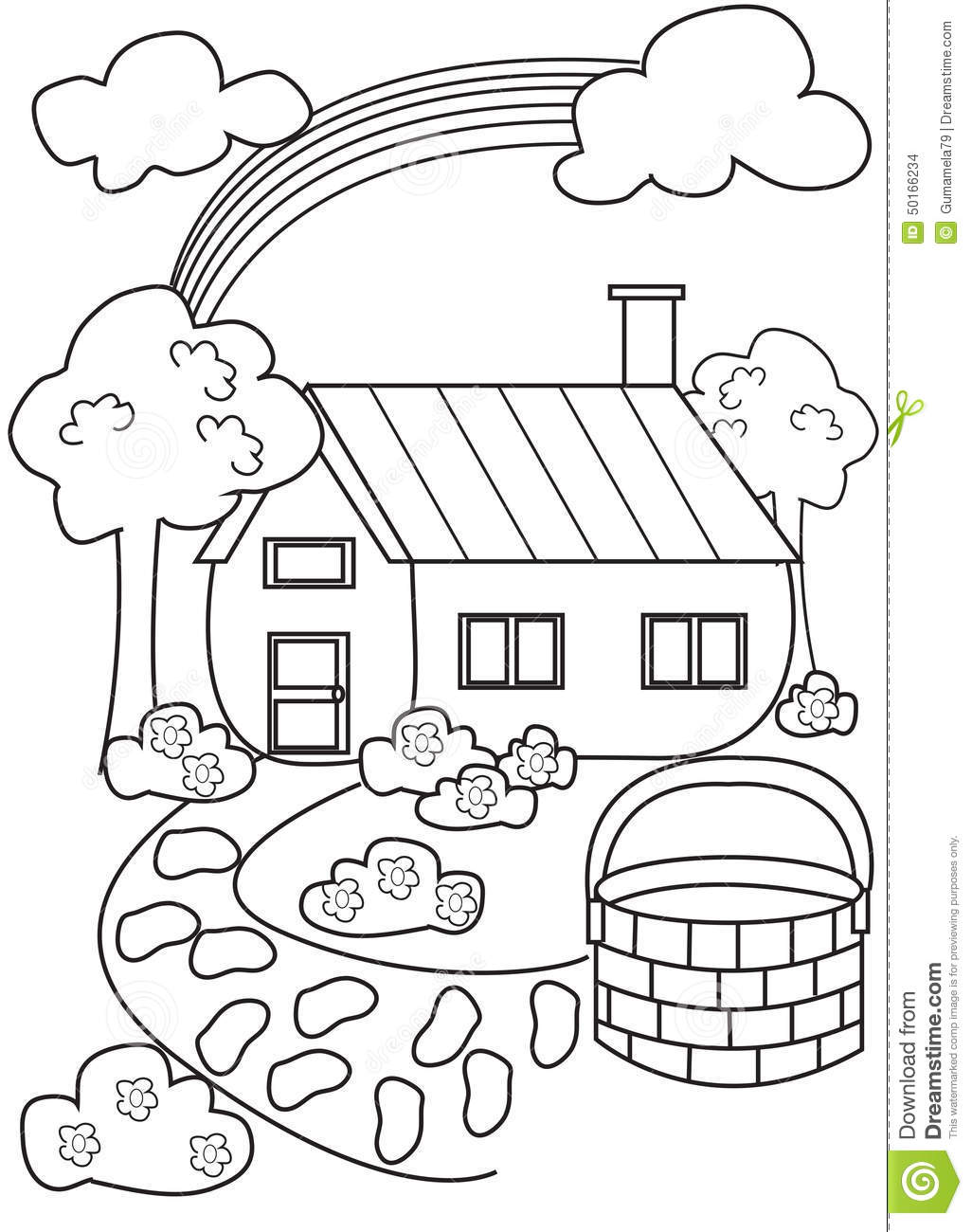 1026x1300 Learn Colors For Kids House Coloring Page Rabbit Book Bird