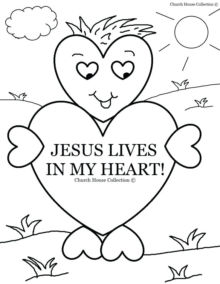 736x952 Preschool Sunday School Coloring Pages