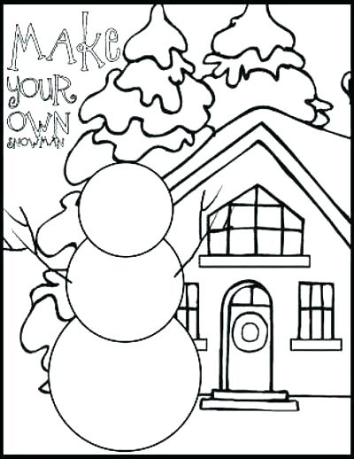400x518 Coloring Pages For Girls Winter Scene Free Printable Kids