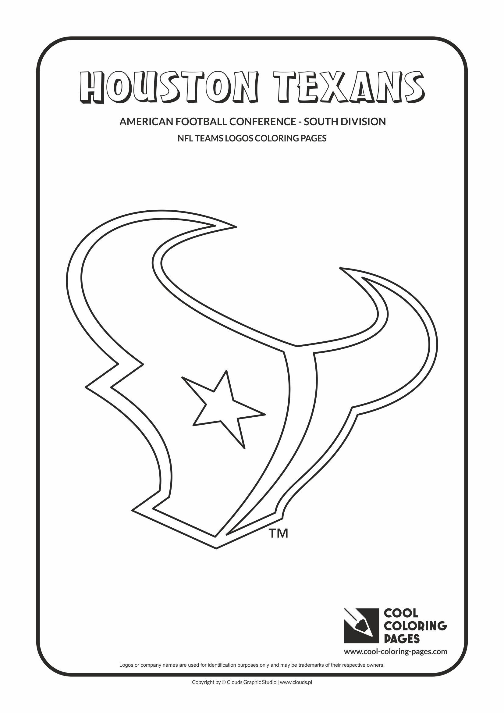 Houston Coloring Pages