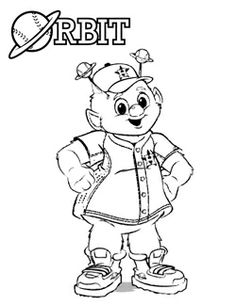 236x305 Orbit Coloring Pages For Download Here Httphouston Astros Mlb