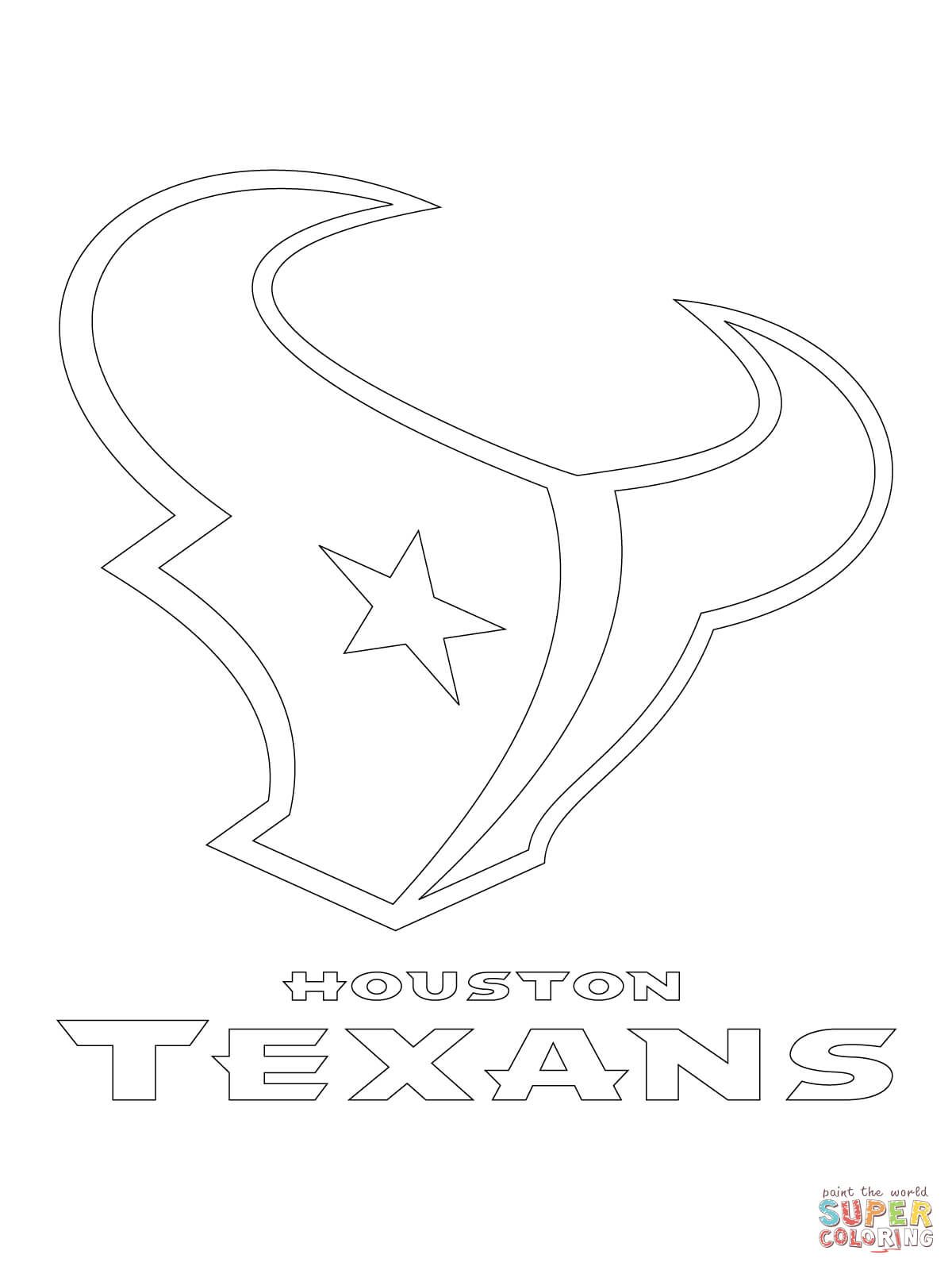1200x1600 Click The Houston Texans Logo Coloring Page Free Printable Pages