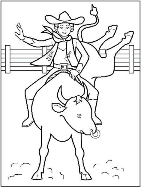 470x621 Rodeo Coloring Pages Free Printable Rodeo Coloring Pages Great