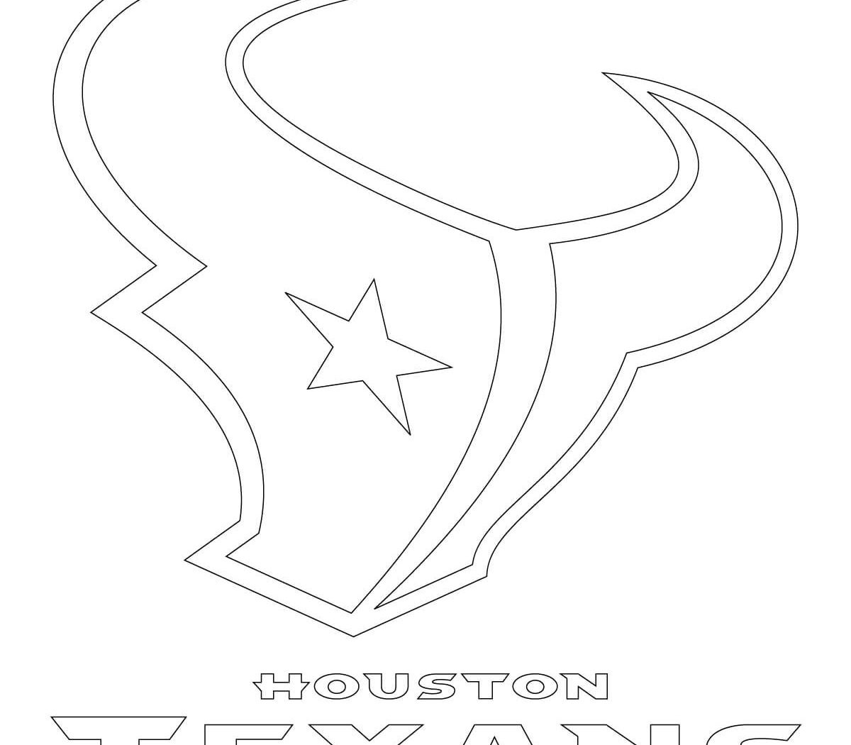 1200x1050 Houston Texans Coloring Pages