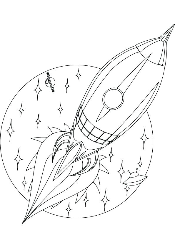 595x842 Rockets Coloring Pages R Is For Rocket Coloring Page Houston