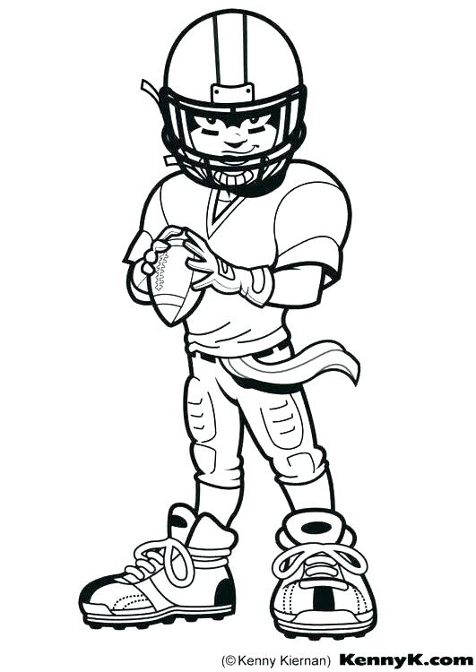 531x750 Football Players Coloring Pages Football Players Coloring Pages