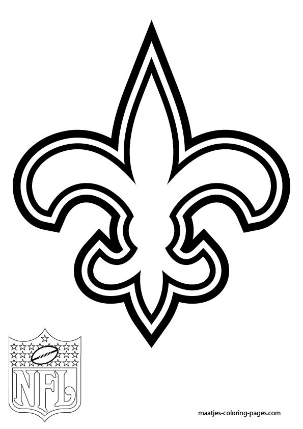 595x842 Saints Football Coloring Pages How To Print Coloring Pages
