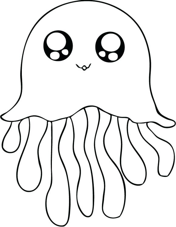 580x748 Cute Animal Coloring Pages Cute Easy Animals To Draw Colouring