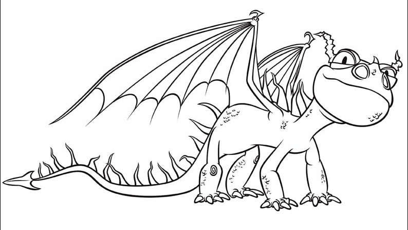 794x447 How To Train Your Dragon Coloring Pages Dragons