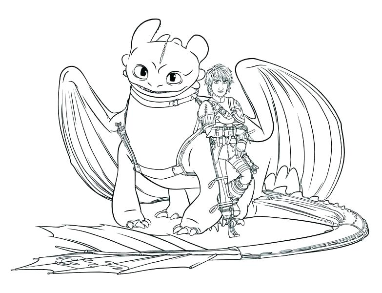 783x600 Free How To Train Your Dragon Coloring Pages Cartoon Dragon