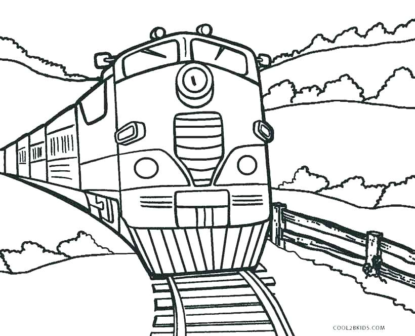 820x663 Free Printable Train Coloring Pages Dinosaur Train Coloring Page