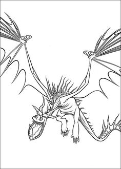 236x330 How To Train Your Dragon Coloring Page