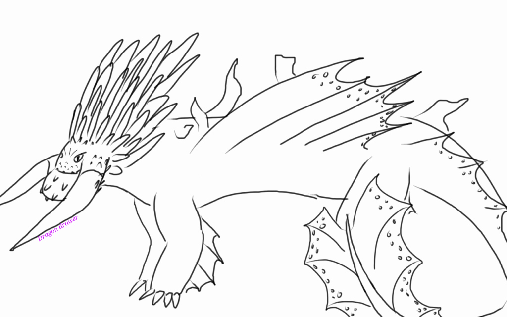 1024x640 How To Train Your Dragon Coloring Pages How To Train