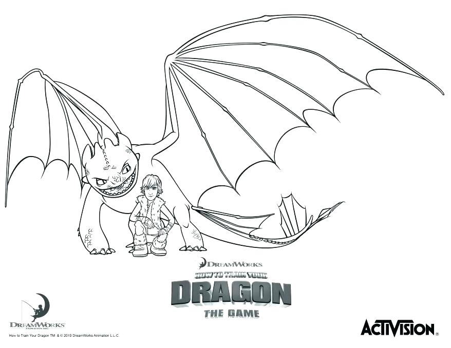 878x678 Coloring Pages How To Train Your Dragon Toothless Pictures