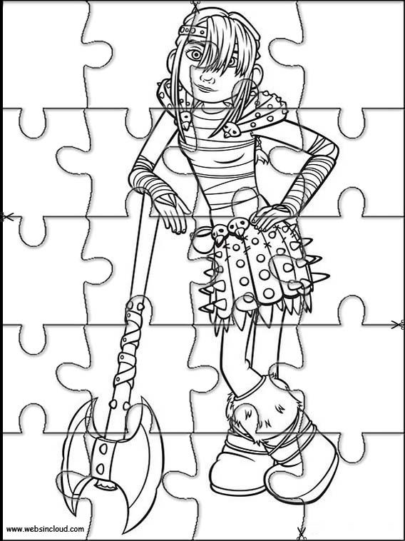 568x758 Printable Jigsaw Puzzles To Cut Out For Kids How To Train Your