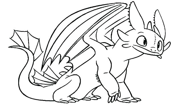 600x379 Coloring Pages Of How To Train Your Dragon