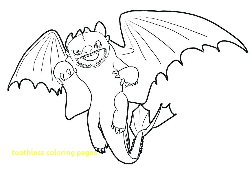 864x587 Free How To Train Your Dragon Coloring Pages Toothless Dragon