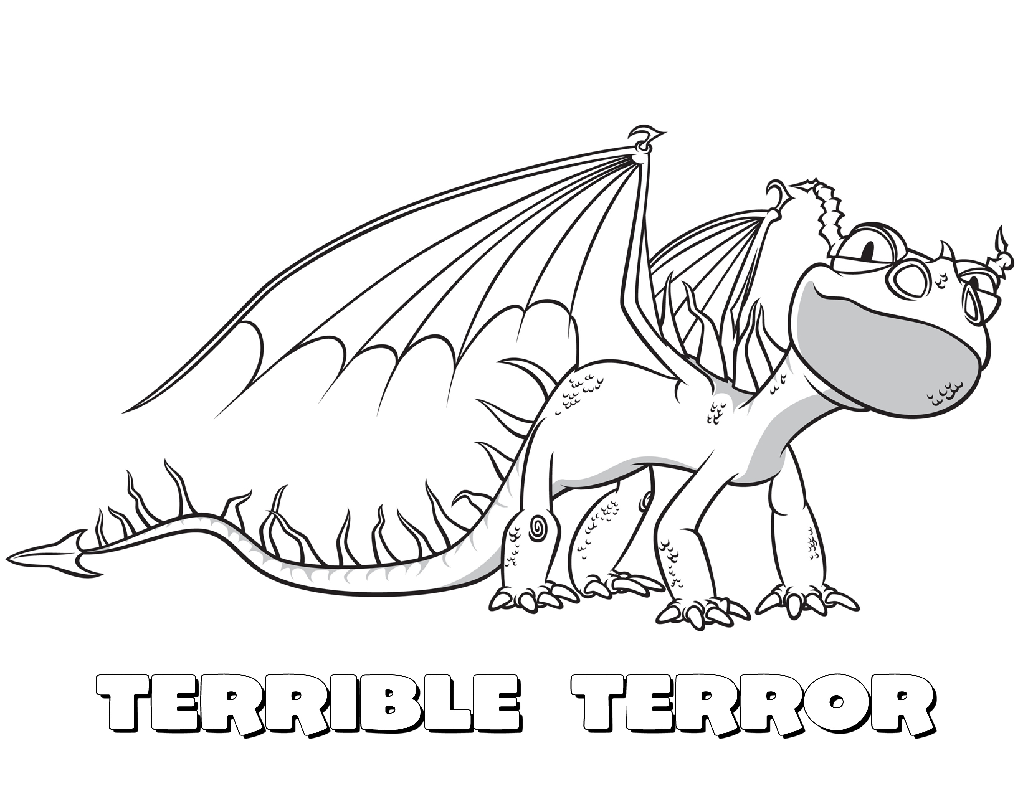 3300x2550 Good Terrible Terror How To Train Your Dragon Coloring Pages