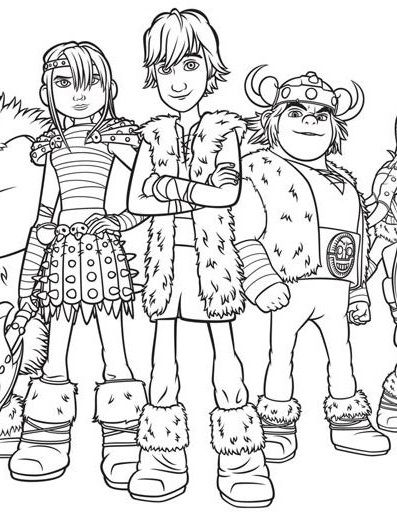 397x521 Best Train Your Dragon Coloring Pages Images
